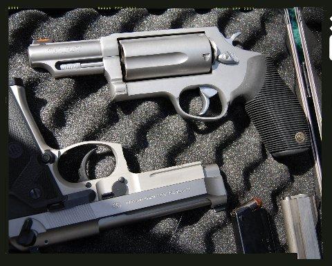 The Judge, a .410 guage revolver